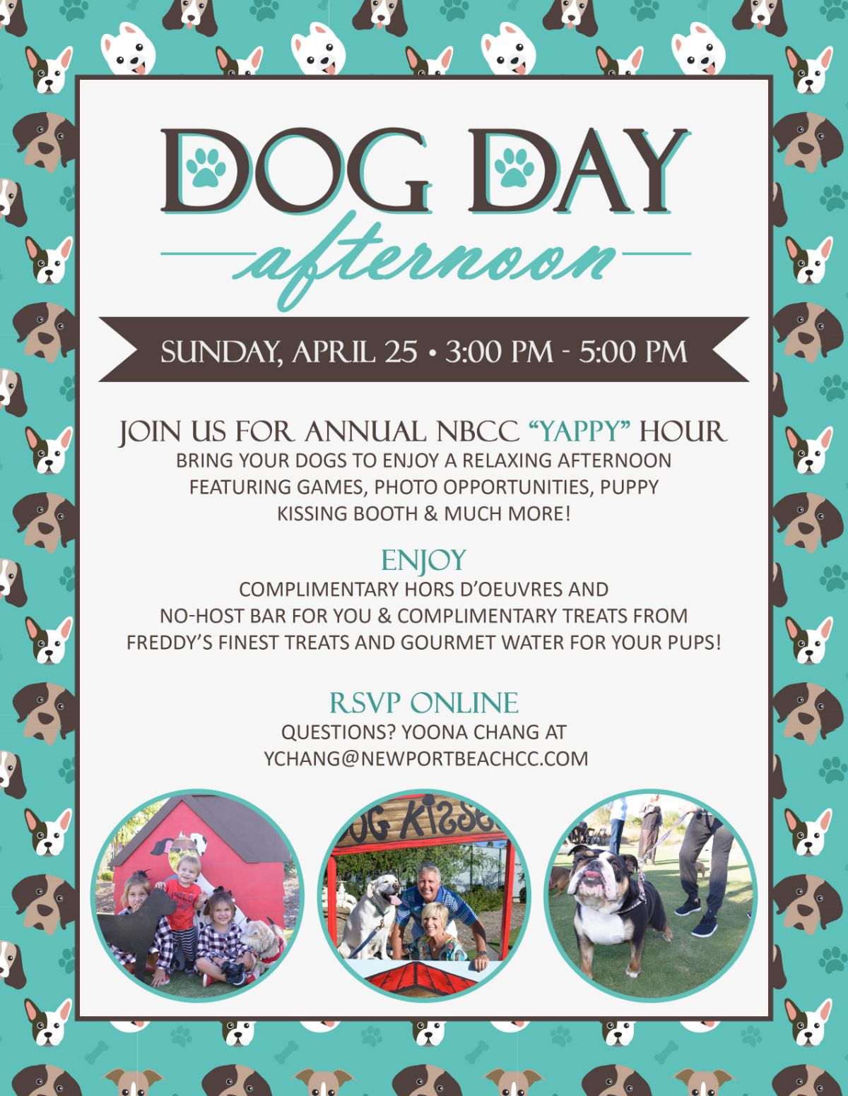 DOG DAY Afternoon – Adoption Event – APRIL 25th – one clubhouse drive, Newport Beach, 92660